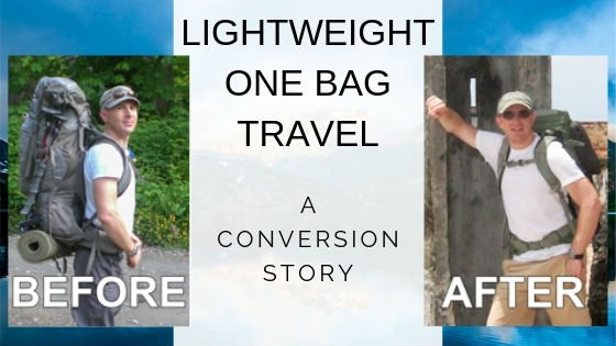 Lightweight one bag travel isn't difficult. Learn from my mistakes and start traveling better today!