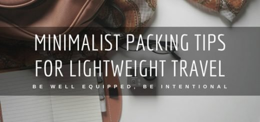 Travel well equipped, yet nimble: Let us show you how to be intentional about everything you carry with minimalist packing tips for lightweight travel.