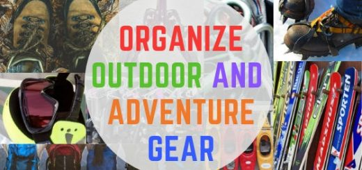 Organizing outdoor gear : outdoor gear storage