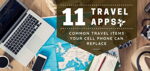 Why pack something your cell phone can replace? This list of travel apps will give you fantastic alternatives for common travel items you can leave behind.
