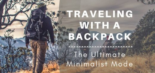 We all over-pack. Enjoy the journey as much as the destination by traveling with only a backpack.