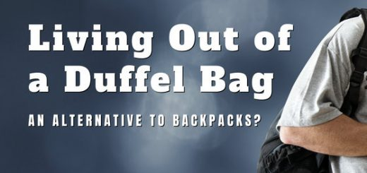 Our guest writer, Colin Bird, discusses living out of a duffel bag. He believes this is a great alternative for lightweight travel.