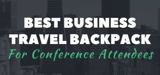 This is our pick for the best business travel backpack for conferences - the SwissGear 1900 Scansmart TSA Laptop Backpack