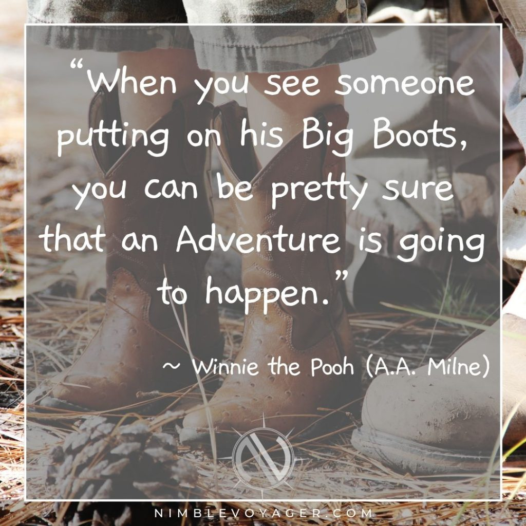 Adventure quote by Winnie the Pooh