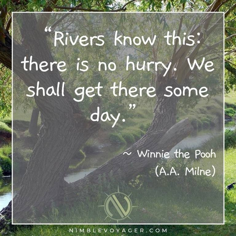 Family travel quote by Winnie the Pooh