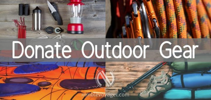 Donate Outdoor Gear